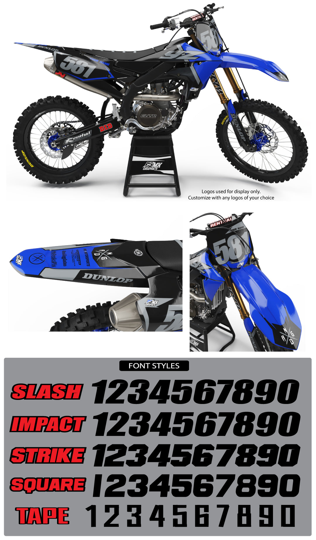 Yamaha MX24 Graphic Kit