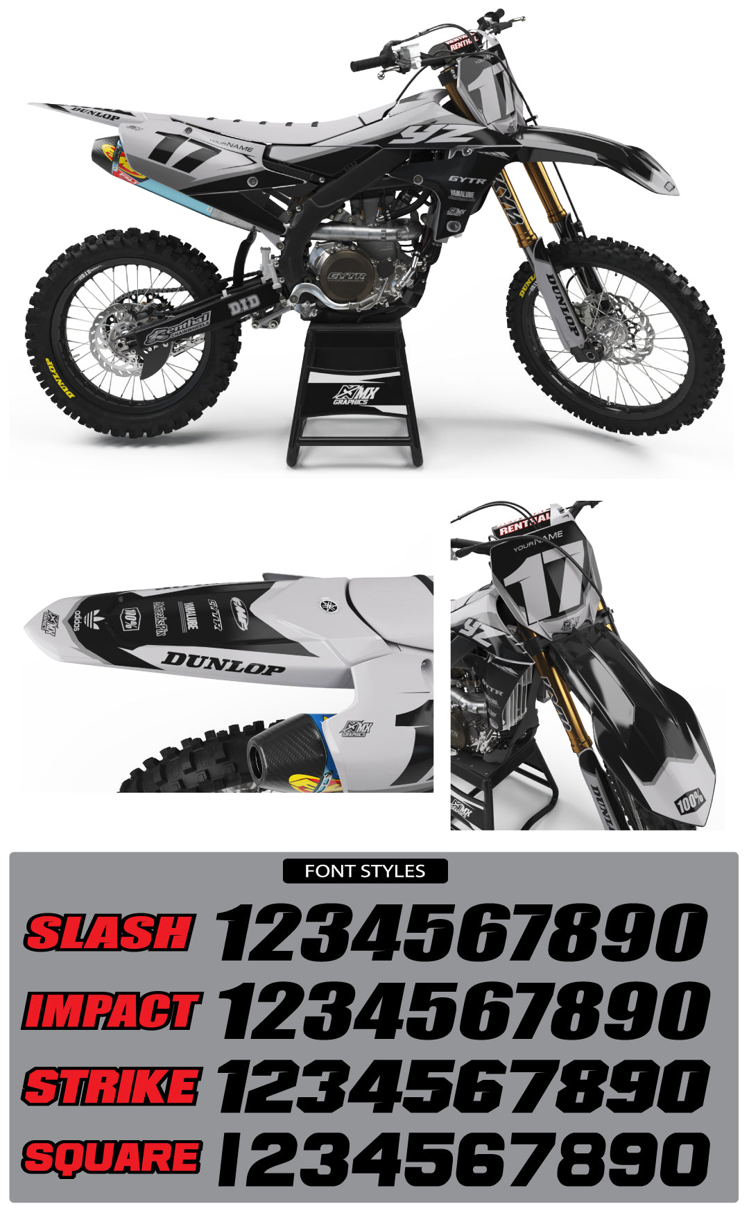 Yamaha MX5 Graphic Kit
