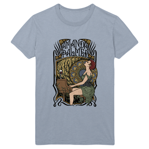 AFP Art Nouveau Tee (By UK Artist Lozzy Bones)