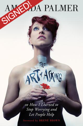 The Art of Asking Hardcover (Signed by Amanda)
