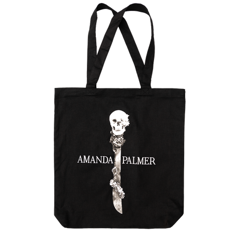 Skull Machete Tote Bag