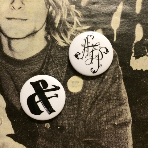 Amanda Palmer Band Button Set