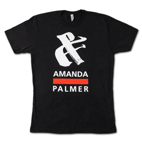 AFP Ampersand Black Tee