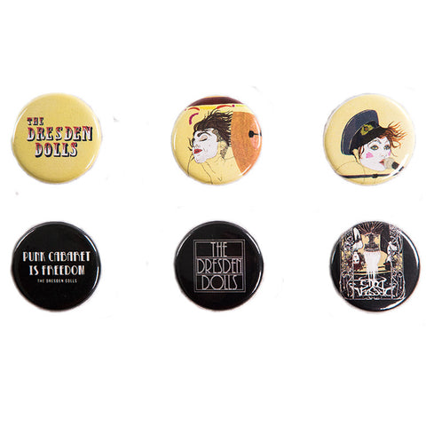 The Dresden Dolls Button Packs