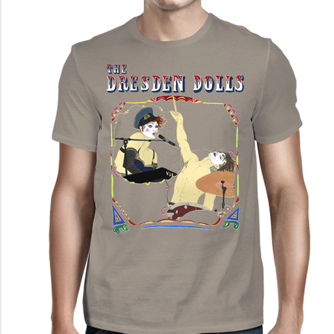 The Dresden Dolls - Coney Island Poster Unisex Tee