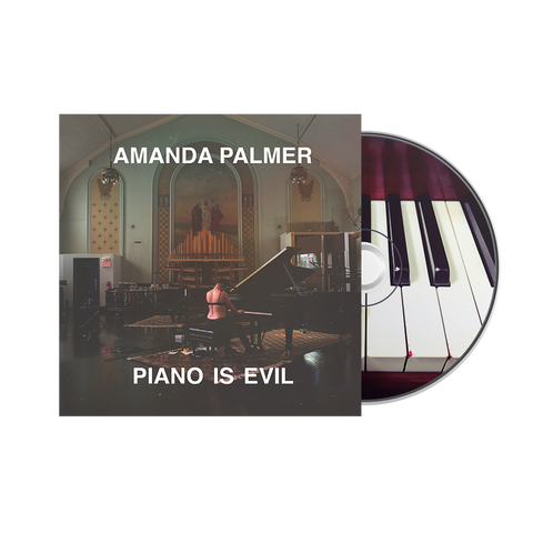 Piano Is Evil (Signed!) CD