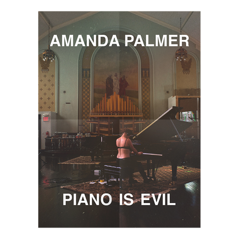 Piano Is Evil - Limited Edition Signed Poster