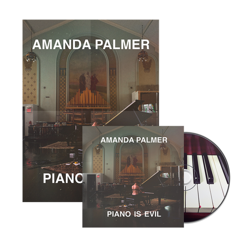 ULTIMATE EVIL: Piano Is Evil - Signed CD + Signed Poster