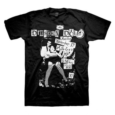 The Dresden Dolls - Middle East Flyer T-shirt