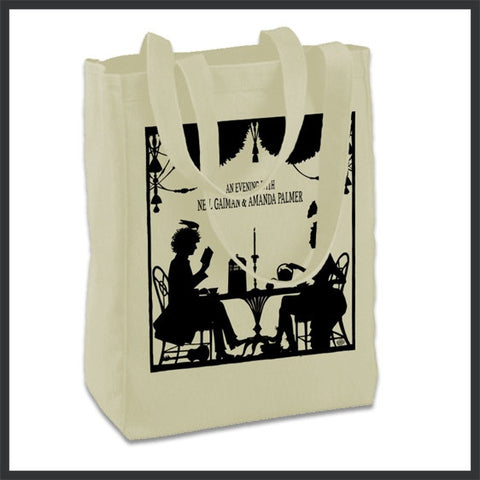 An Evening With Amanda Palmer & Neil Gaiman Tote