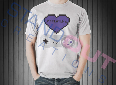 Heart My Player 2 T Shirt
