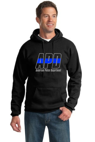 Anderson Police Department Thin Blue Line Hooded Sweatshirt