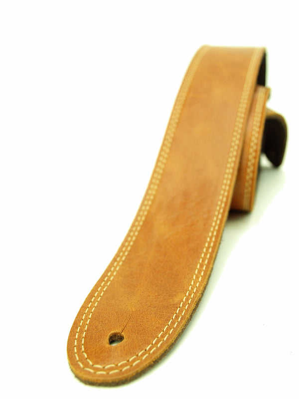 Element Leathers Saddle Premium Leather Guitar Strap