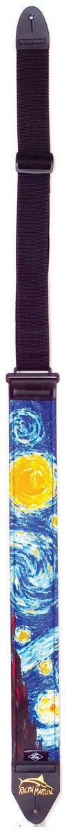 Guitar Strap by LM Products - Guitar Strap by LM Products - Ralph Marlin Starry Night