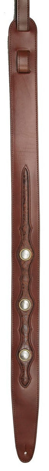 The Texan - Leather Guitar Strap - LM Products - The Texan - Leather Guitar Strap - LM Products
