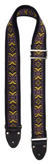 Festival Folk - Black - Guitar Straps (NEW)