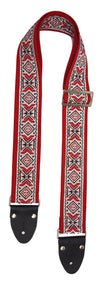 Festival Folk - Red - Guitar Straps (NEW)