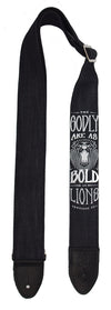 "Sacred Denim ""Lion"" Guitar Straps"
