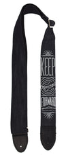 "Sacred Denim ""Moving Forward"" Guitar Straps"