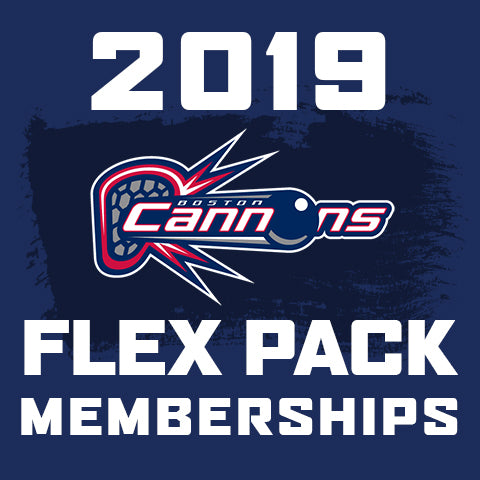 2019 Boston Cannons Flex Pack Tickets