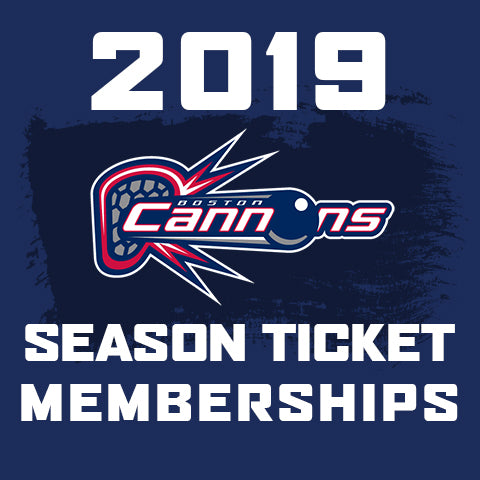 2019 Boston Cannons Season Ticket Memberships