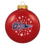 Boston Cannons Holiday Ornament