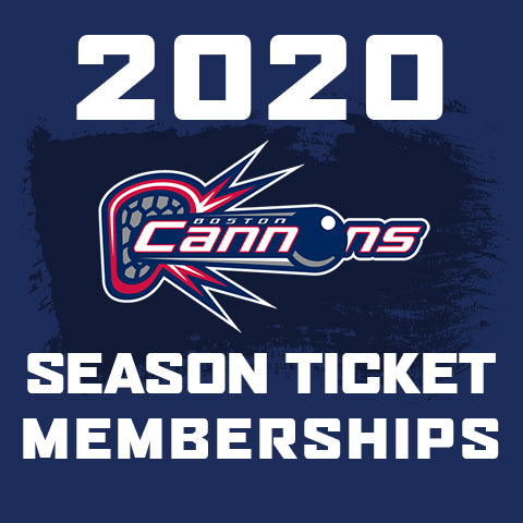 2020 Boston Cannons Season Ticket Memberships