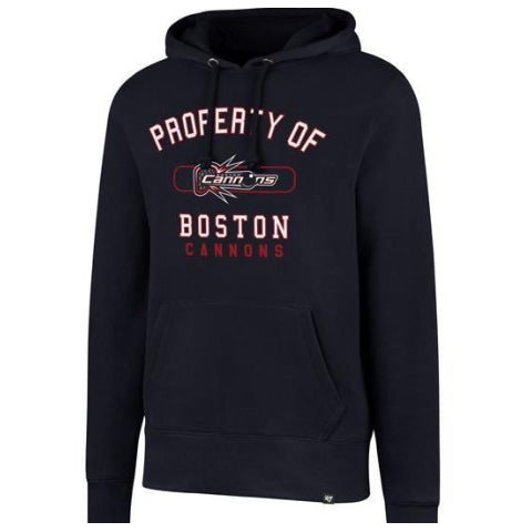 "'47 Brand ""Property of Boston"" Headline Pullover Hoodie"