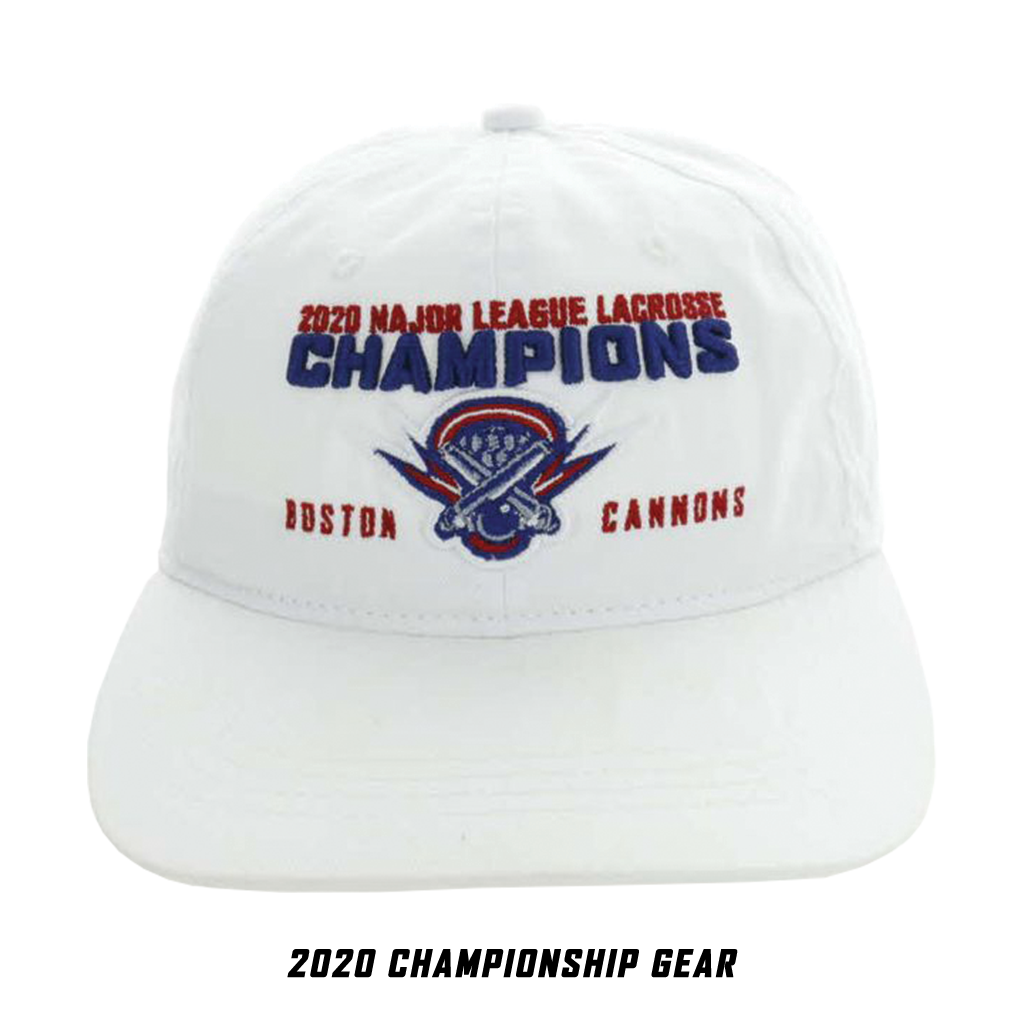 Boston Cannons 2020 Championship Hat