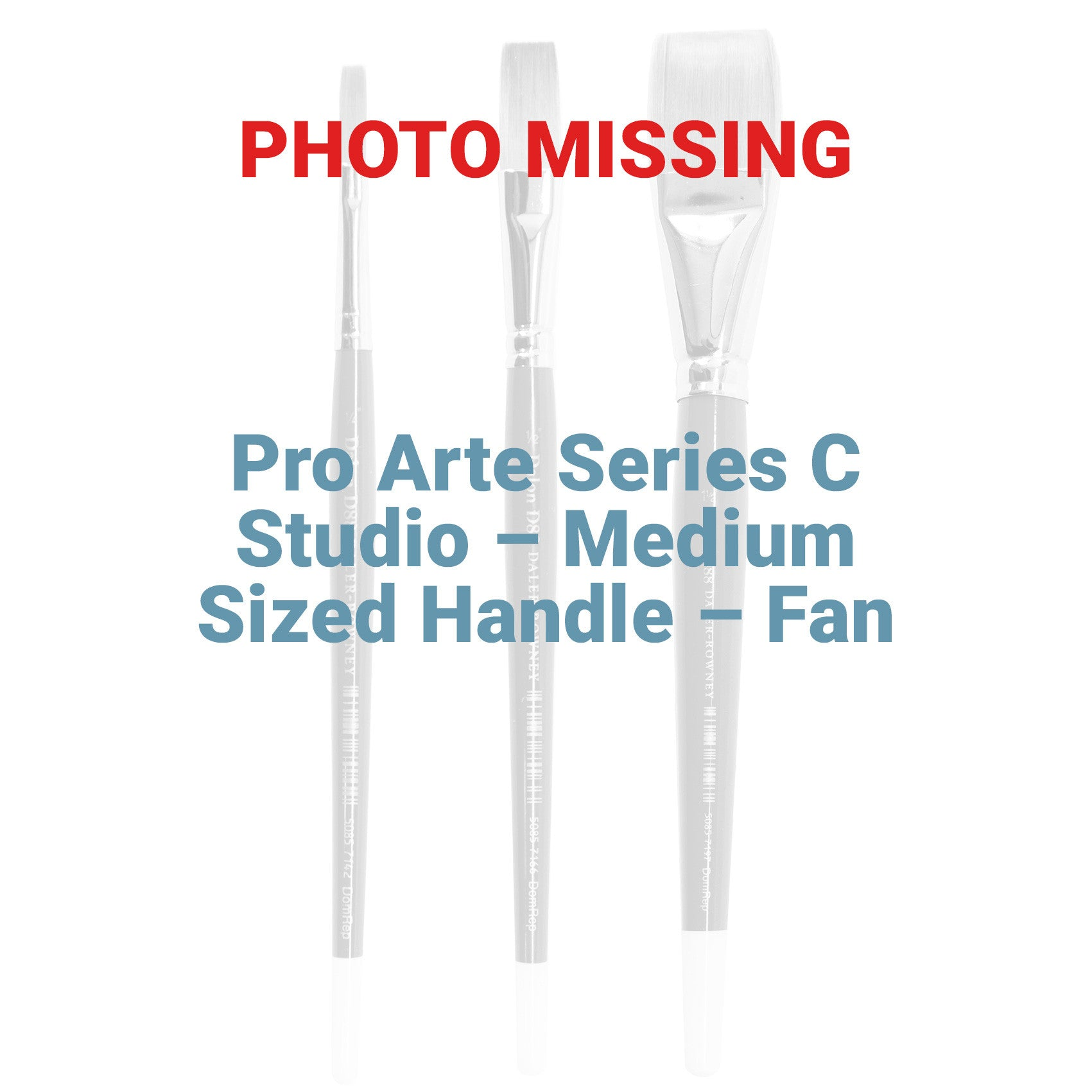 Pro Arte Series C Studio – Medium Sized Handle – Fan