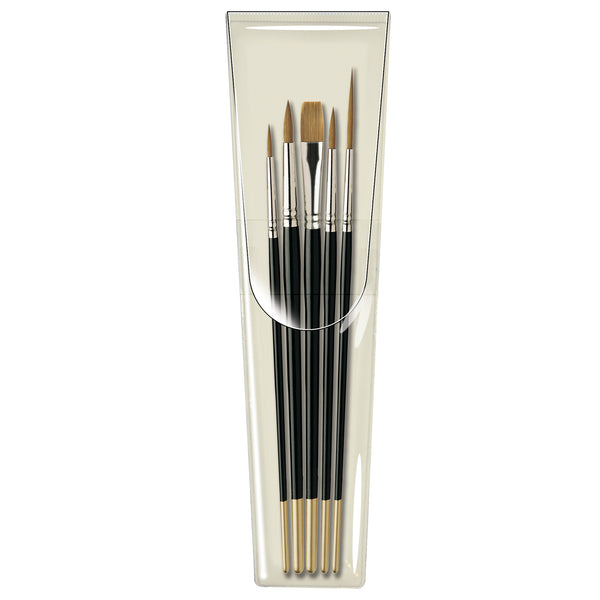 <b>NEW BRUSH SETS</b><br>Pro Arte Prolene Brush Set - W1