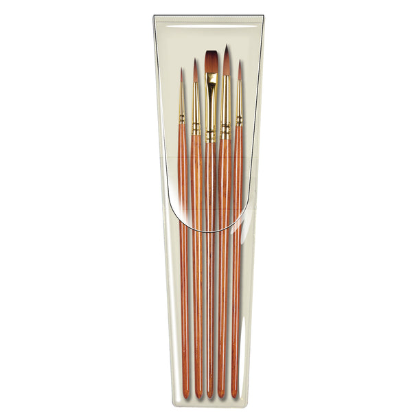<b>NEW BRUSH SETS</b><br>Pro Arte Prolene Plus Set - W2