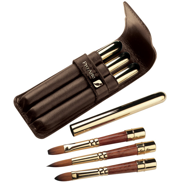 <b>NEW BRUSH SETS</b><br>Pro Arte Series R Prolene Plus Retractable