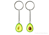 Handmade Best Friend Avocado Keychains, Valentine's day gift