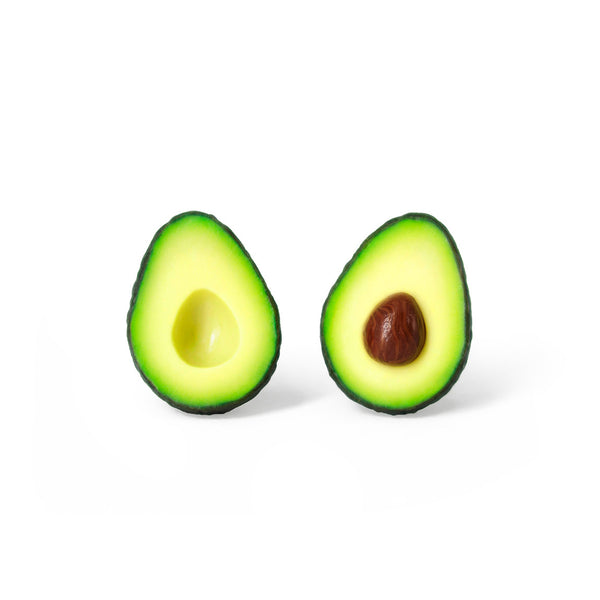 Handmade Avocado Stud Earrings