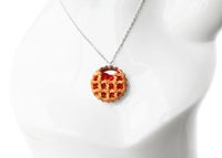 Polinacreations Handmade Jewelry Cherry Pie Pendant Cherry Pie Necklace,Miniature Food Jewelry Cherry Jewelry Red Necklace Cherry Necklace red jewelry red necklace Fake food jewelry mini food charm pie charm circle necklace red circle charm pastry jewelry pastry charm gift for her gift for woman bottle cap jewelry berry jewelry berry charm fruit necklace berry necklace