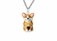 Mothers Day Gift Mama Corgi and Baby Necklace. Mothers Day Gift Necklace Corgi Dog Gift, Corgi Necklace Corgi Jewelry PolinaCreations
