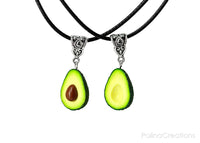 Handmade Best Friend Forever Avocado Necklaces, Valentine's day gift