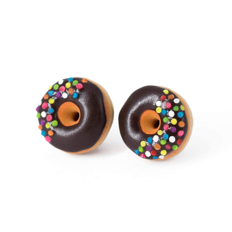products/handmade_polymer_clay_chocolate_glazed_donut_stud_earrings_topped_with_sprinkles_7_crop.jpg