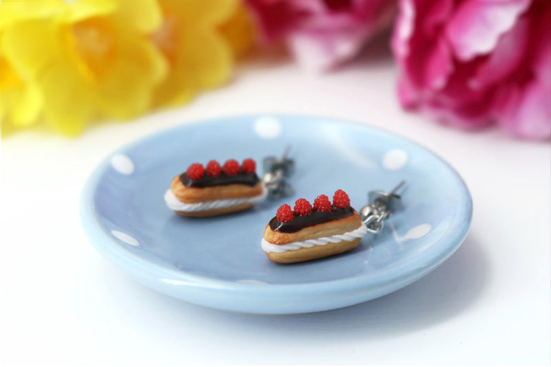 products/handmade_polymer_clay_eclair_stud_earrings_topped_with_chocolate_and_raspberries_1.jpg