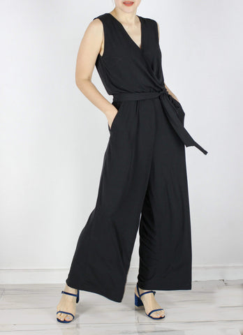 Ethan Jumpsuit in Black