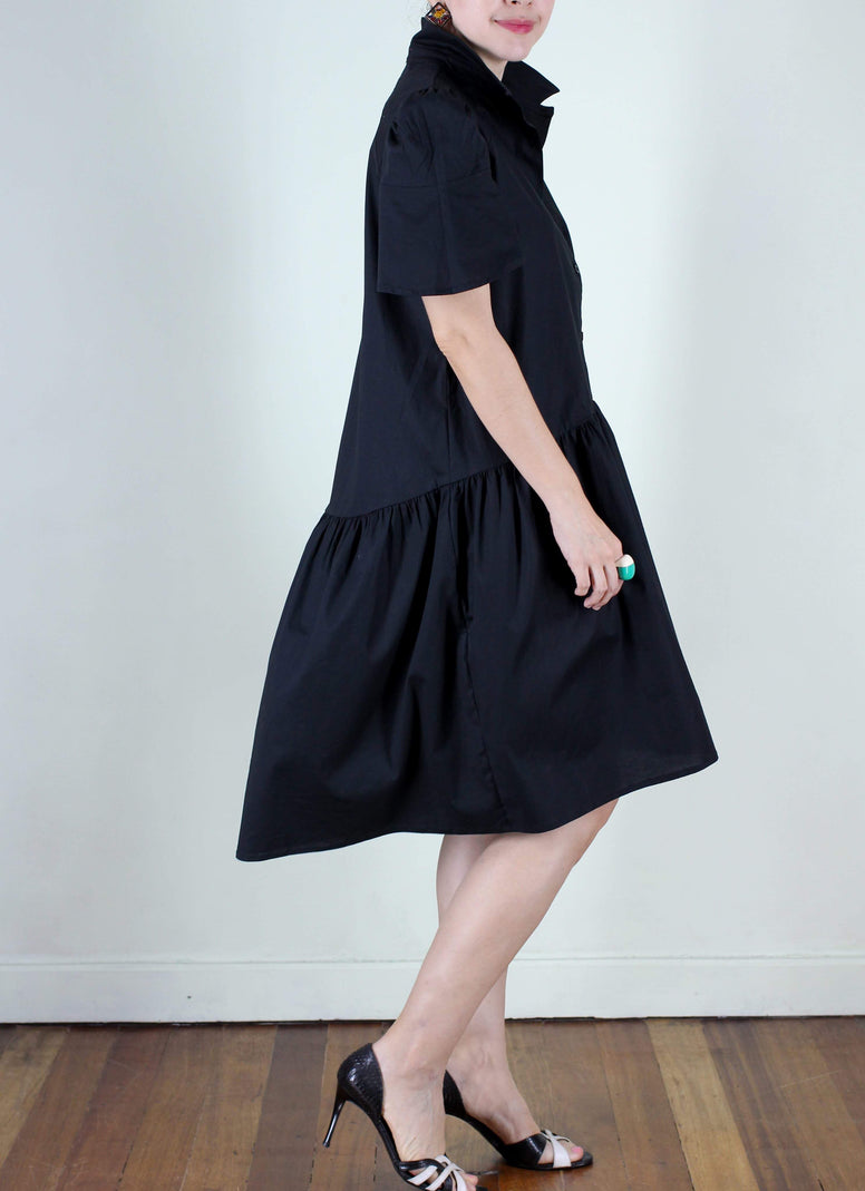 Robert Shift Dress in Black