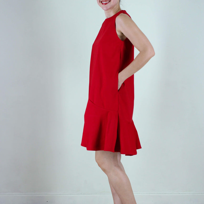 Cairo dress in Red