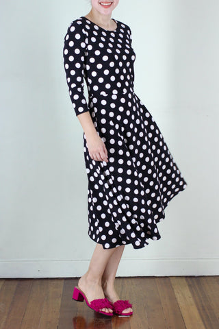 Aurora Dress in Polka