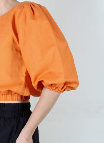 Archie Top in Orange
