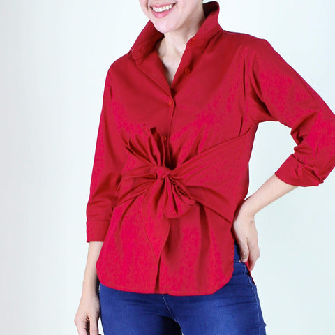 Harper Top in Red