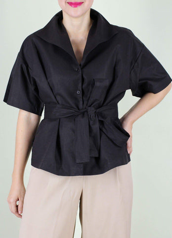 Sicily Top in Black