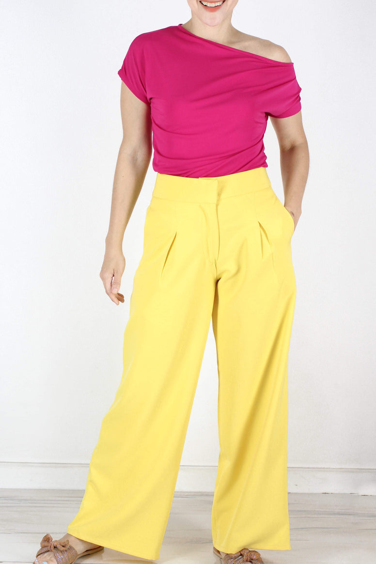 Hansel Pants in Yellow