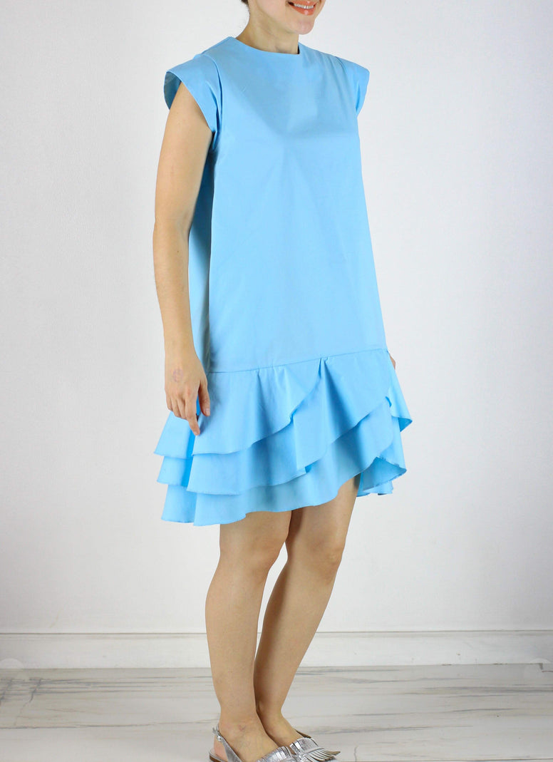 SOLD OUT Rome Dress in Fresh Blue