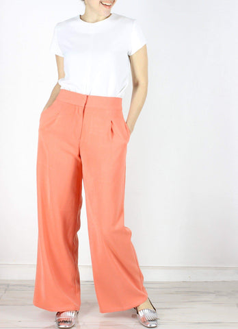 Hansel Pants in Coral